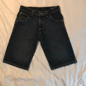 For boys or girls denim shorts